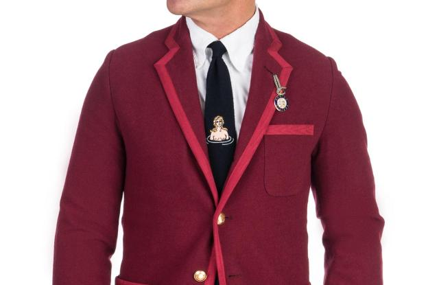 A look from the Rowing Blazers collection.