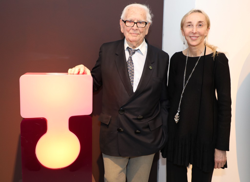 Pierre Cardin and Carla Sozzani