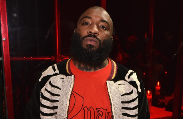 NEW YORK, NY - APRIL 06:  A$AP Bari attends the celebration of Tupac's Powamekka Cafe and preview of Tupac by Vlone on April 6, 2017 in New York City.  (Photo by Bryan Bedder/Getty Images for The Estate of Tupac Shakur )