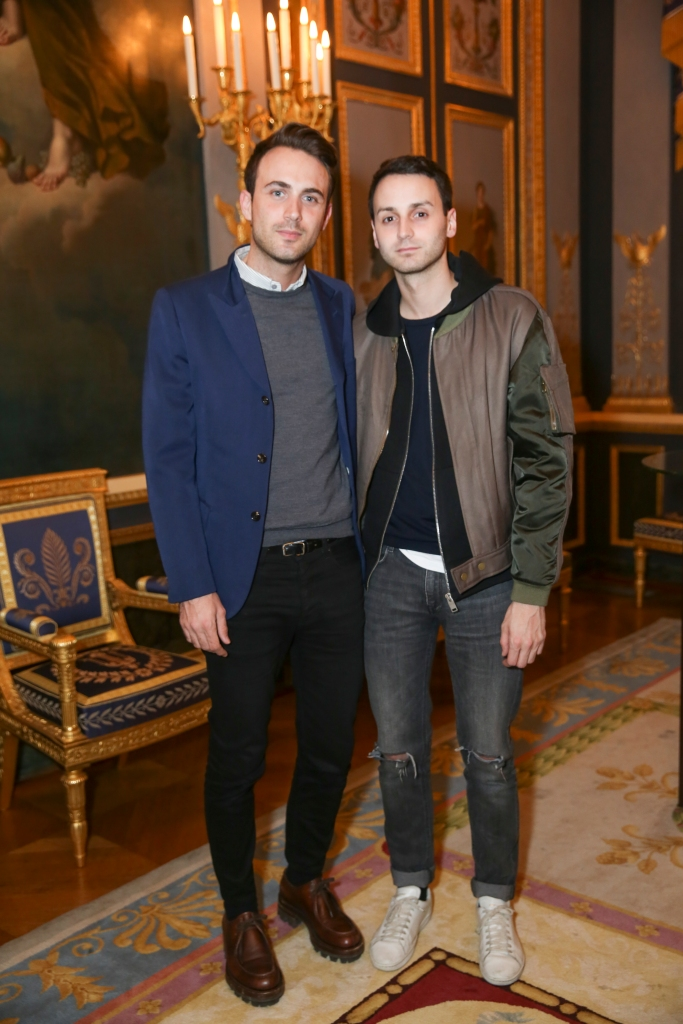 Sébastien Meyer and Arnaud Vaillant