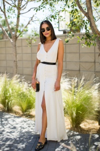 Olivia Culpo House of Harlow 1960 x Revolve brunch