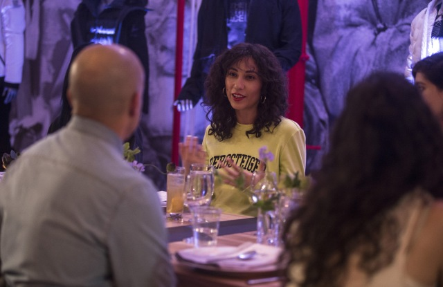 The North Face hosted a dinner for indie singer Tei Shi.
