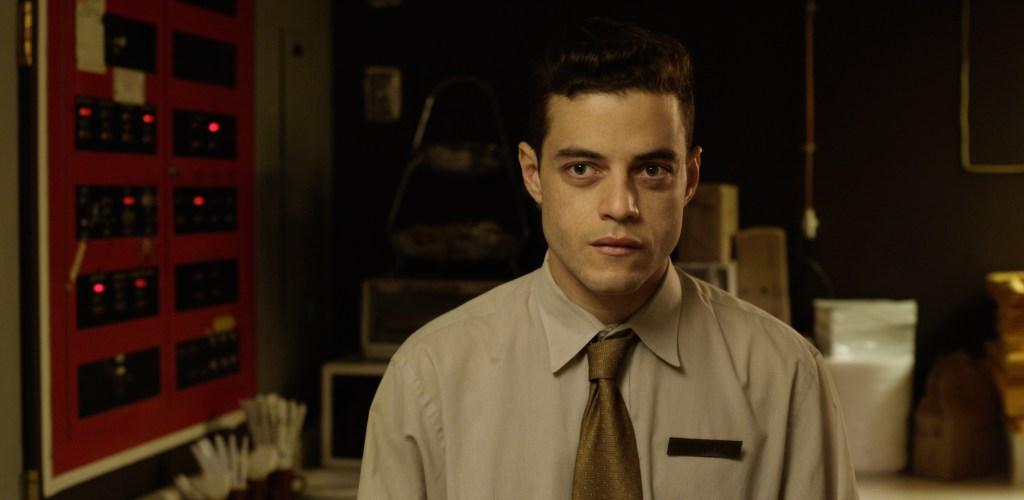 Rami Malek in the film.