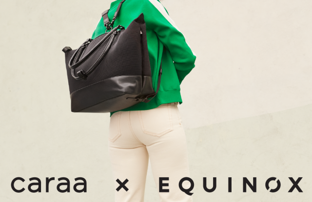 The Caraa x Equinox launch event will be held April 28 at the Greenwich Avenue club.