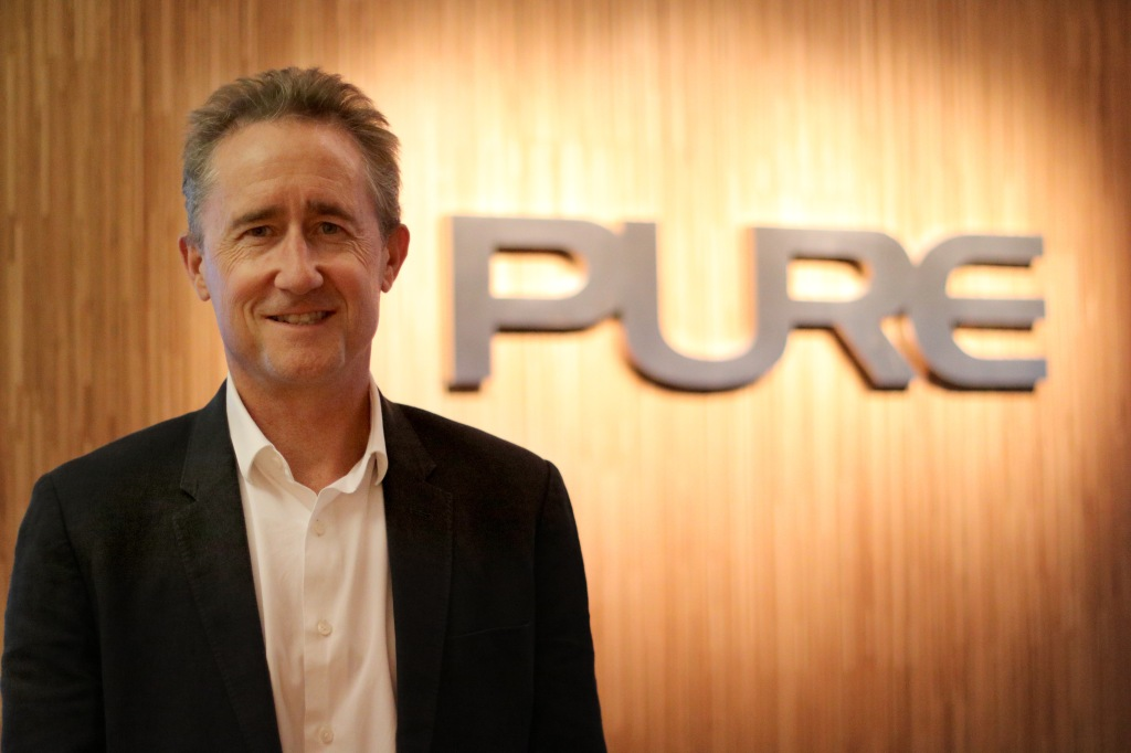 Colin Grant, chief executive officer of Pure Group.