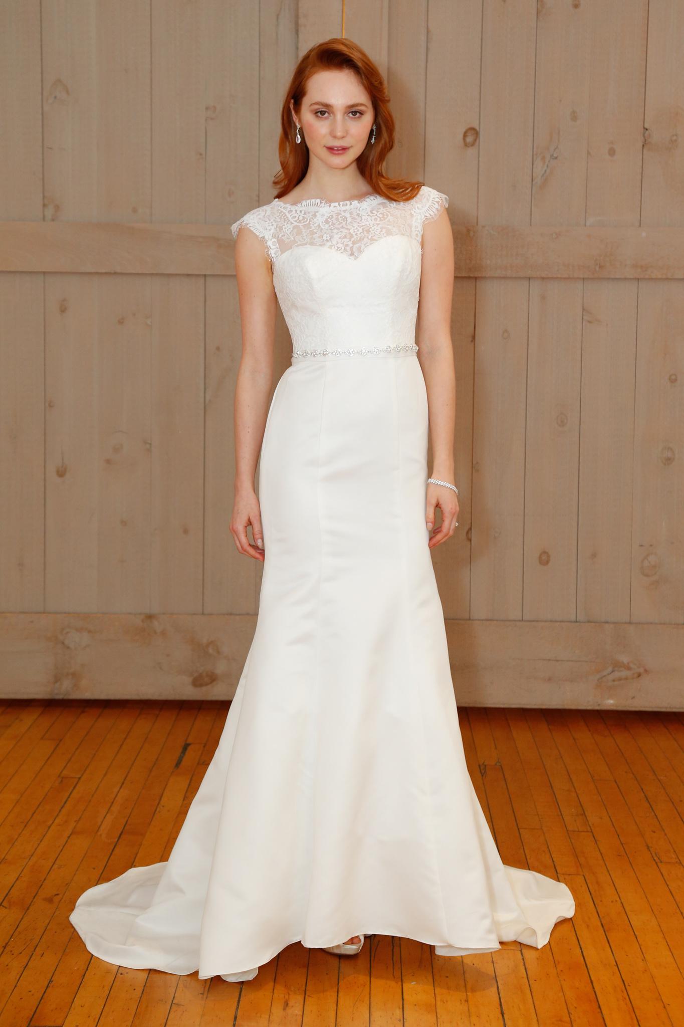 A look from David's Bridal