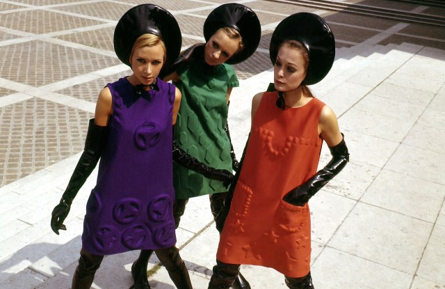 Pierre Cardin's designs will be featured in an exhibition at Rosecliff in Newport, R.I.