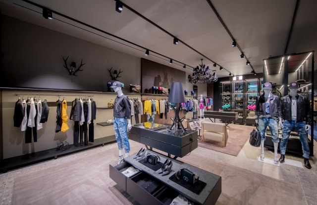 Dsquared2 Flagship in Las Vegas