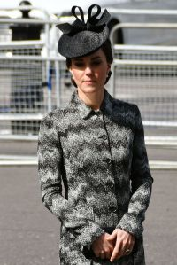 The Duchess of Cambridge (in Missoni) after laying a wreath at Westminster Abbey in London.