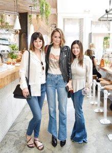 Fuschia Sumner, Anine Bing and Nola Singer