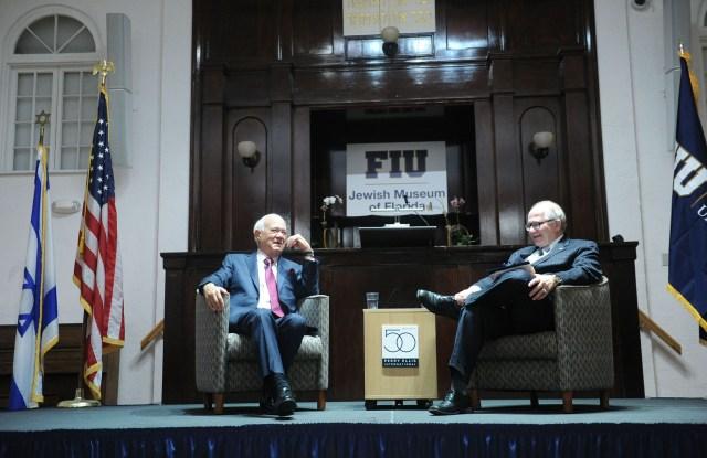 George Feldenkreis & Mark Rosenberg speaking