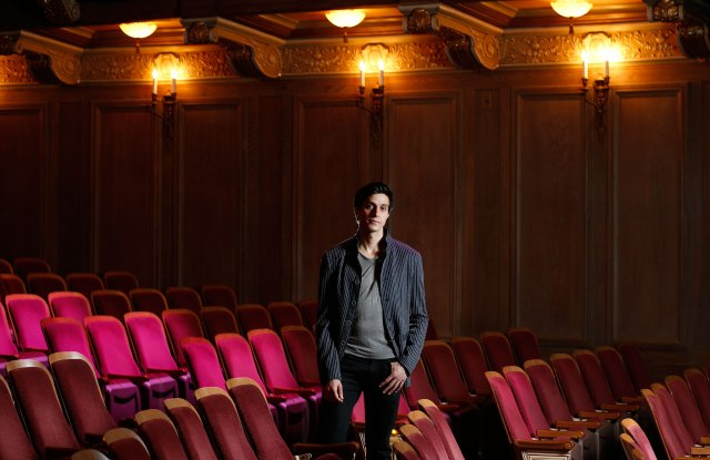 Gideon Glick at Booth Theatre, New York.