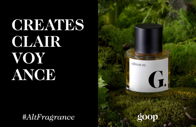 Goop's second fragrance, Edition 02, Shiso.