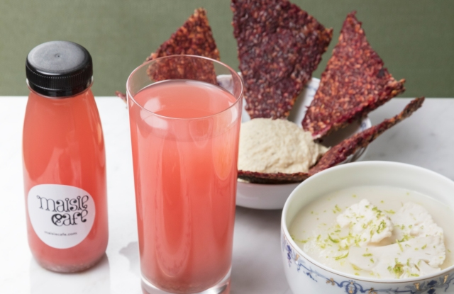 Maisie Café has developed exclusive dishes for its collaboration with the Ritz Club