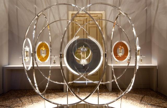 Diptyque's installation during Milan Design Week.