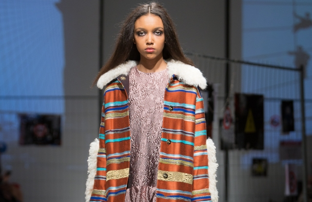 A buy-now runway look from the Narciss fall/winter collection.