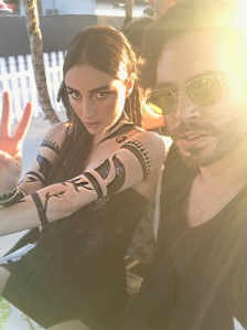 Banks and Christian Classen at Coachella Weekend Two