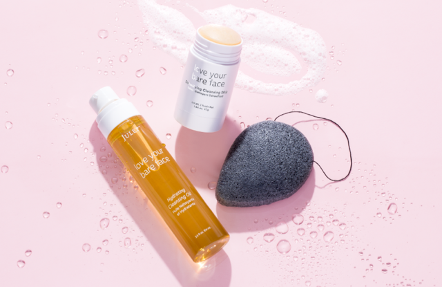 Julep's ambassadors are helping with the spring promotion of the double cleanse program, which includes Love Your Bare Face Oil, Love Your Bare Face Stick and a Konjac sponge.
