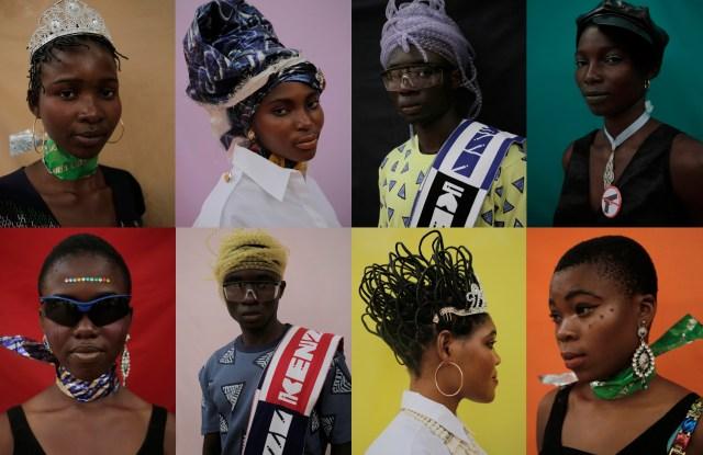 "An image from Kenzo's ""Gidi Gidi Bu Ugwu Eze – Unity is Strength"" exhibit"