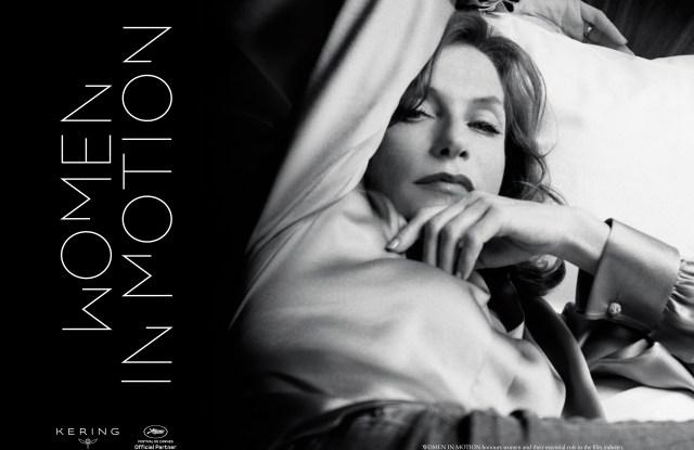 The Kering Women in Motion program poster.