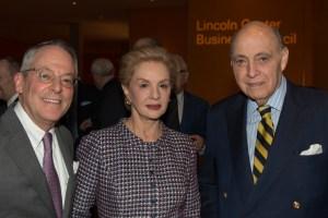 Ken Wyse with Carolina Herrera and her husband Reinaldo