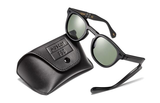 Moscot x Freemans Sporting Club Lemtosh sunglasses.