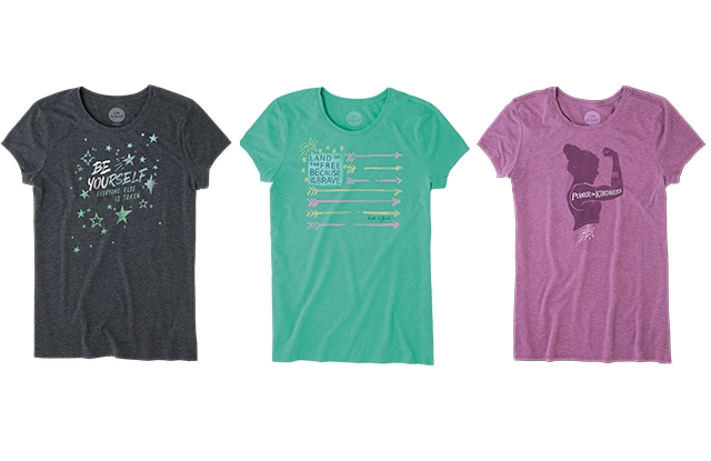 The Aly Tee collection.
