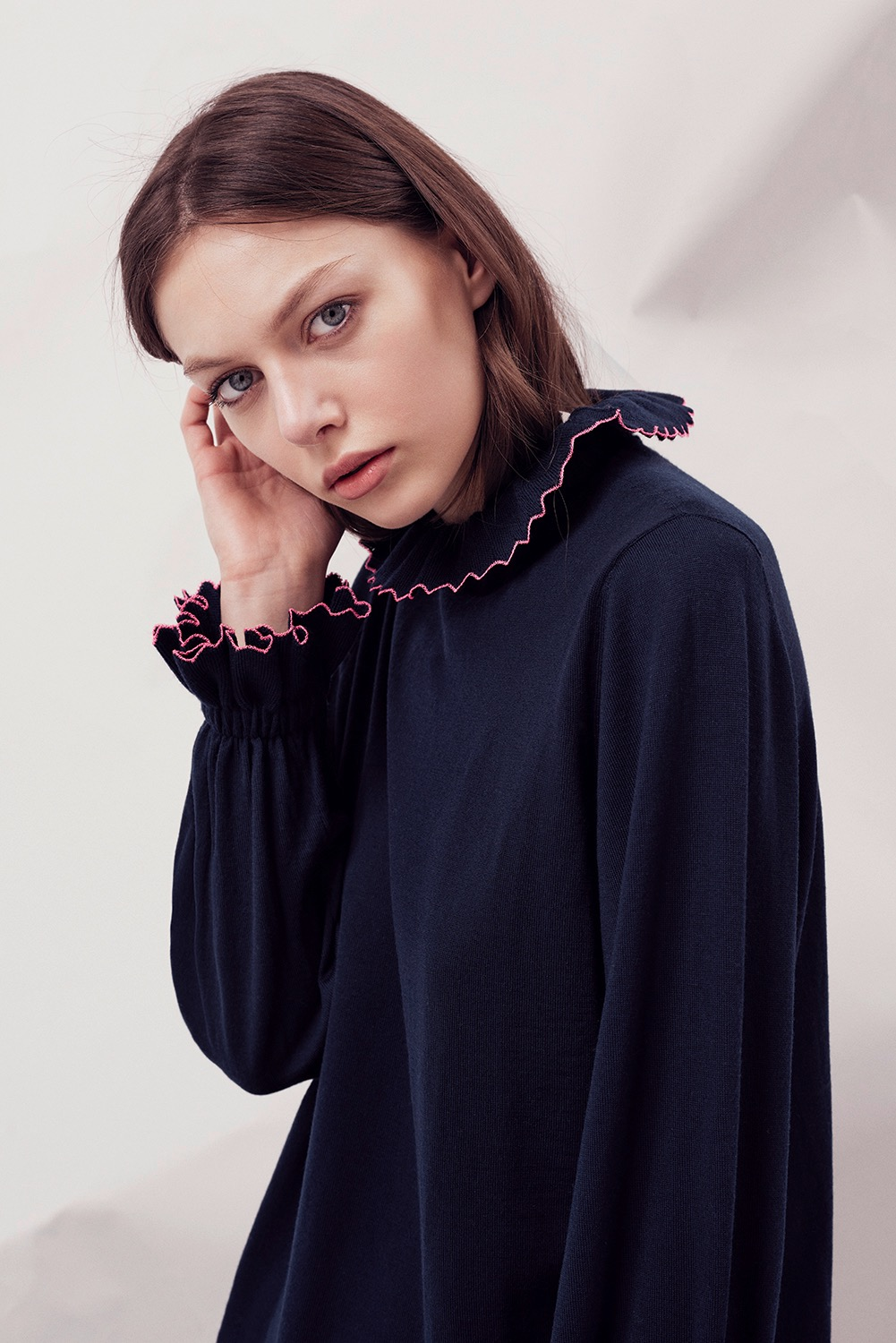 Alex Gore Browne's collection focuses on cocktail sweaters.