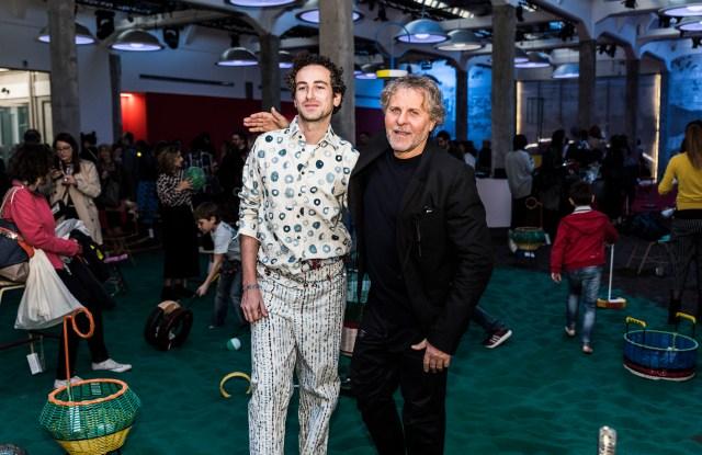 Francesco Risso and Renzo Rosso