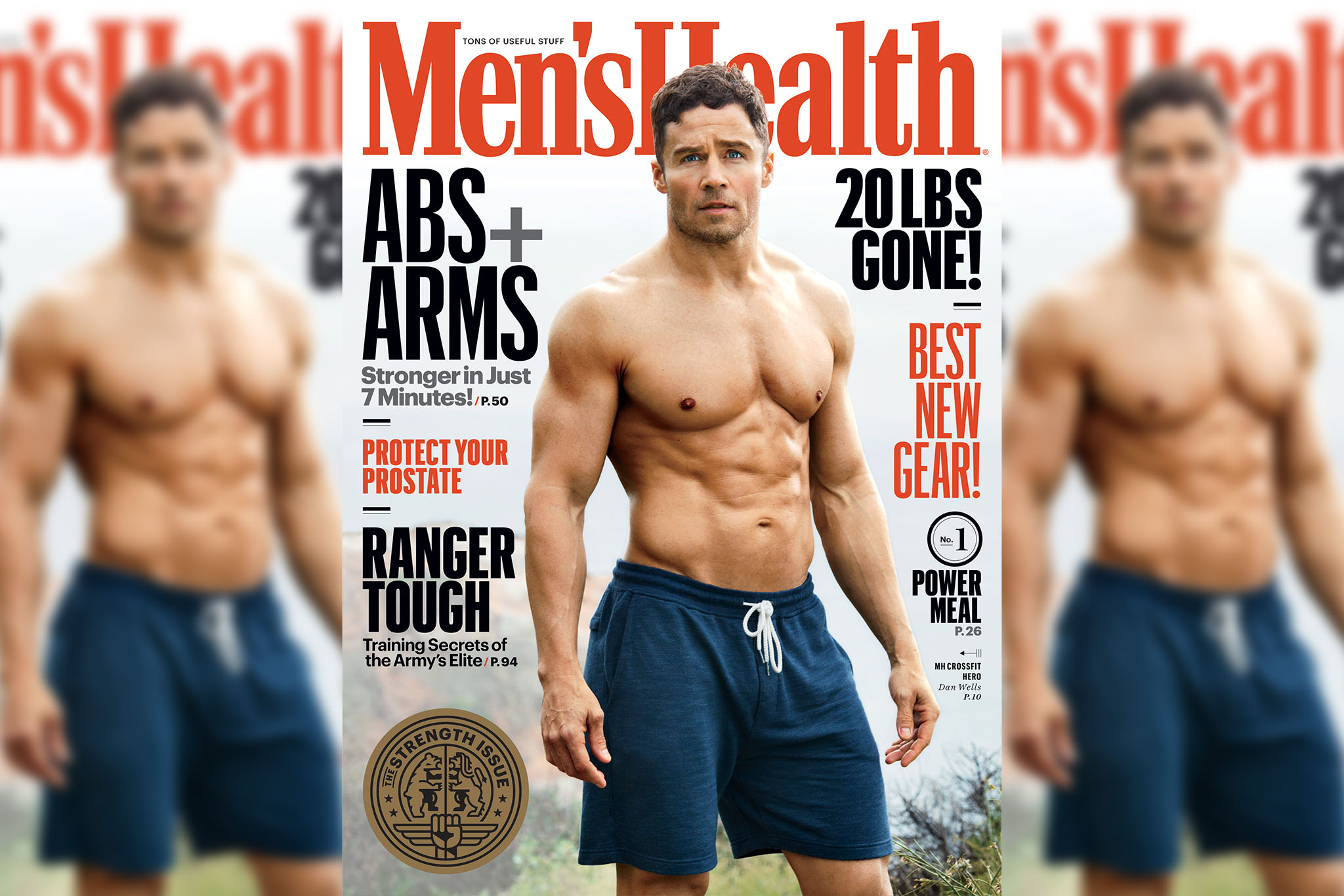 Men's Health's May 2017 cover.