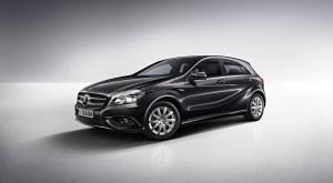 The Mercedes A-Class Peak model.