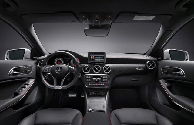 The interior of the Thomas Sabo-edition Mercedes.