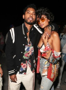 Miguel and Nazanin MandiLevi's Neon Carnival, Coachella Valley Music and Arts Festival, Palm Springs, USA - 15 Apr 2017