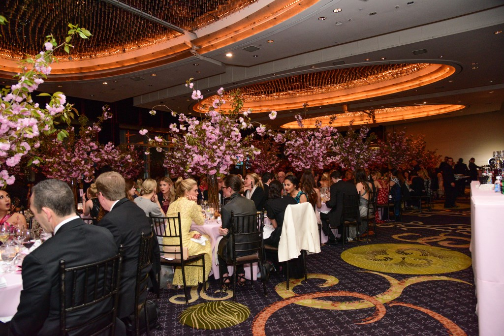 The atmosphere at the New Yorkers for Children Gala 2017.