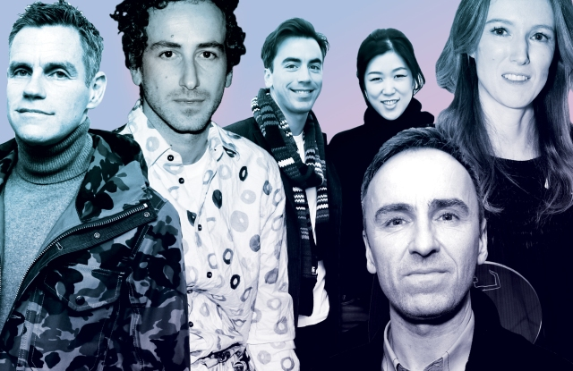 James Scully, Francesco Risso, Fernando Garcia, Laura Kim, Clare Waight Keller, Raf Simons