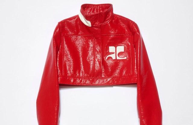 Courreges' jacket.
