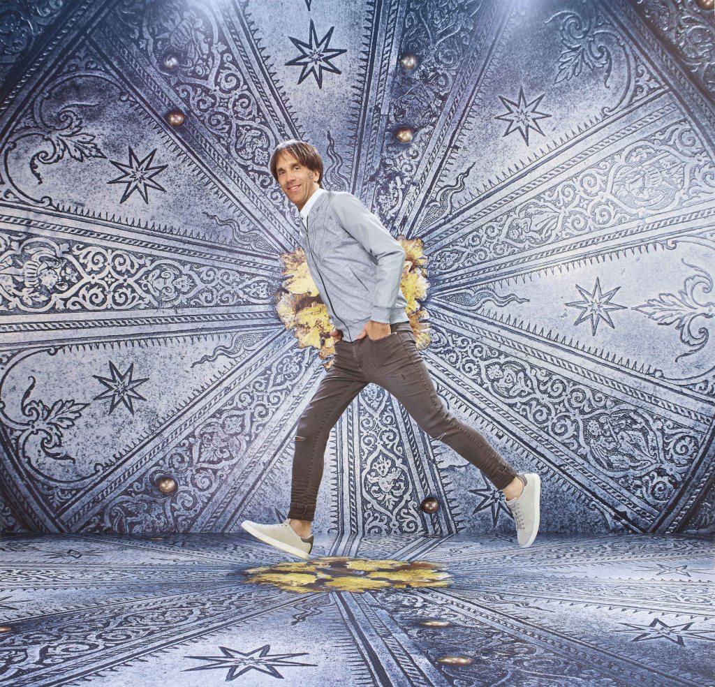 Italian chef Davide Oldani starring in the OVS Arts of Italy ad campaign.