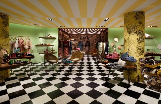 Prada's Porto Cervo women's store