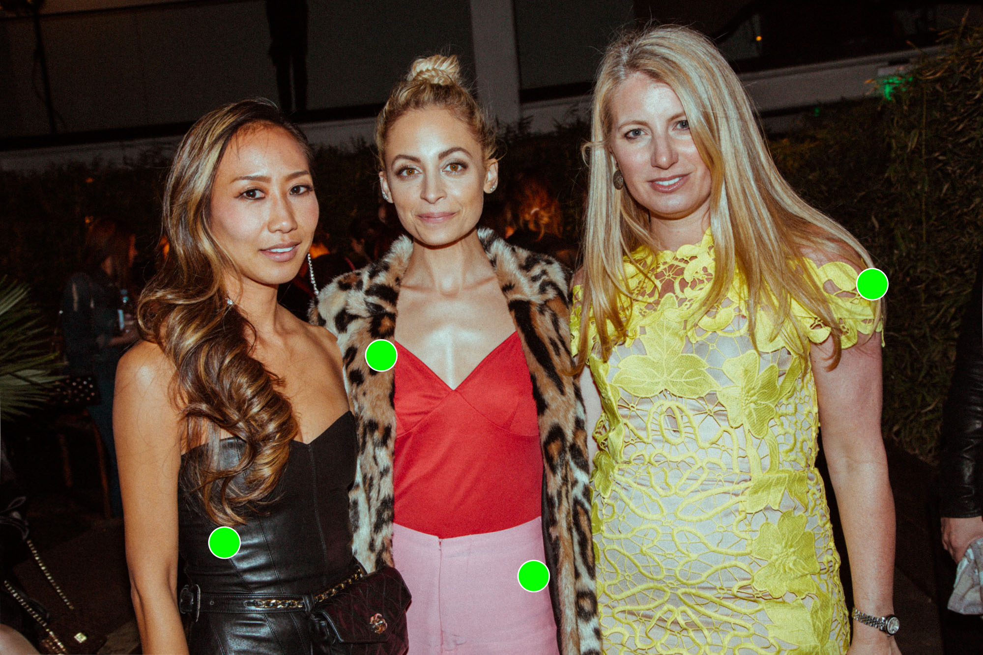 Leah Park, Nicole Richie and Alexis Maybank