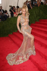 Beyonce KnowlesCostume Institute Gala Benefit celebrating China: Through the Looking Glass, Metropolitan Museum of Art, New York, America - 04 May 2015WEARING GIVENCHY