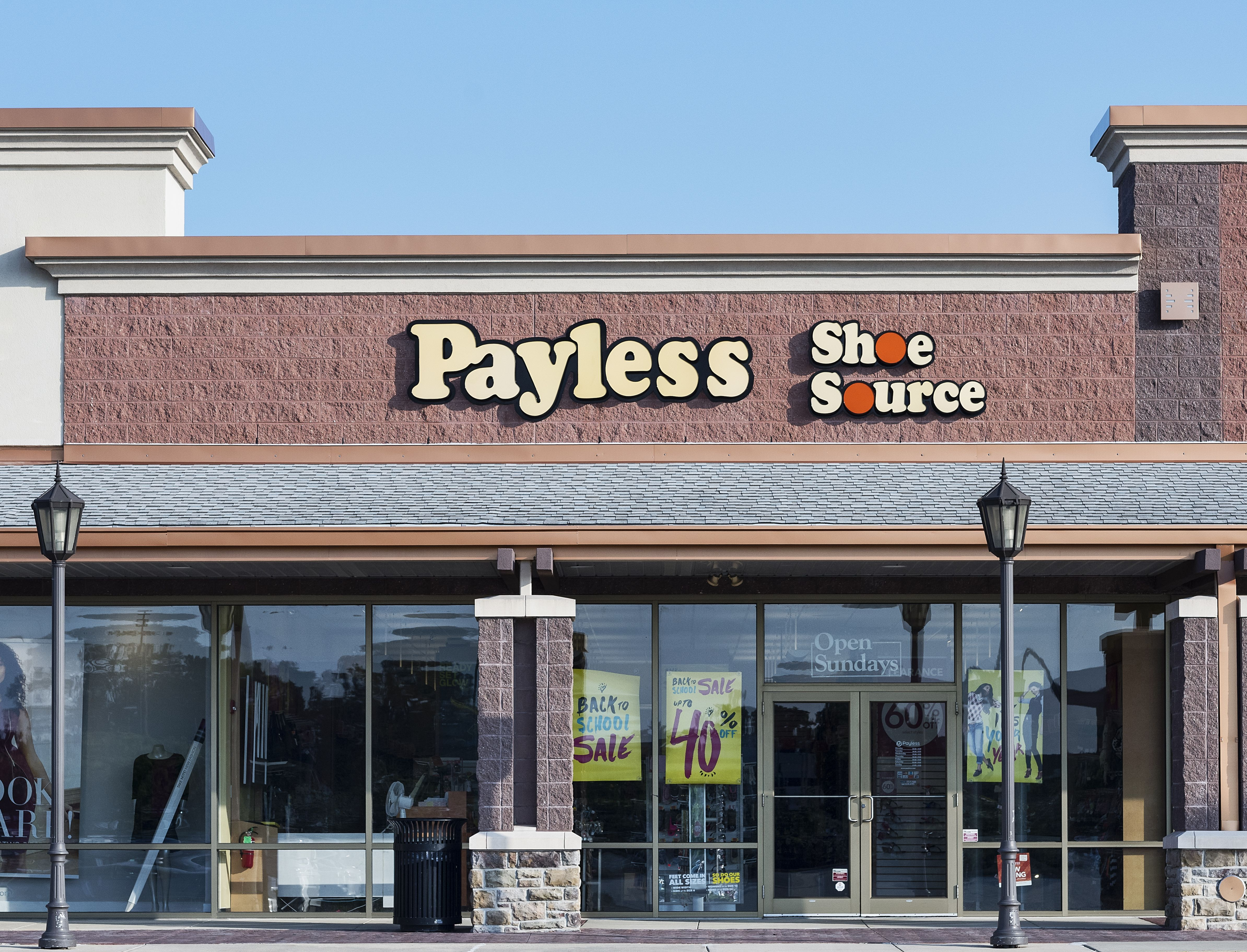 Payless Shoe Source store, Mount Laural, New Jersey, USAVarious, America