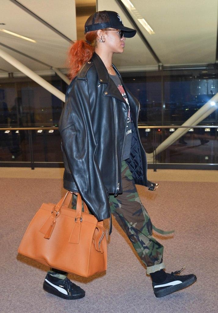 RihannaRihanna at Narita International Airport, Chiba Prefecture, Japan - 15 Jun 2015