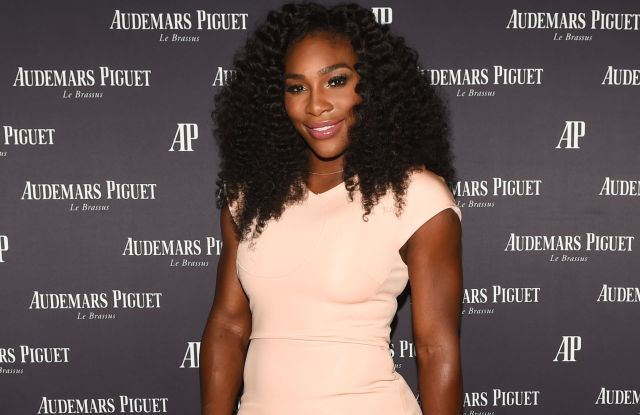 Serena WilliamsAudemars Piguet Celebrates with Brand Ambassadors, New York, America - 27 Aug 2015Audemars Piguet Celebrates with Brand Ambassadors Serena Williams & Stan Wawrinka, The High Line Room, The Standard NYC, New York