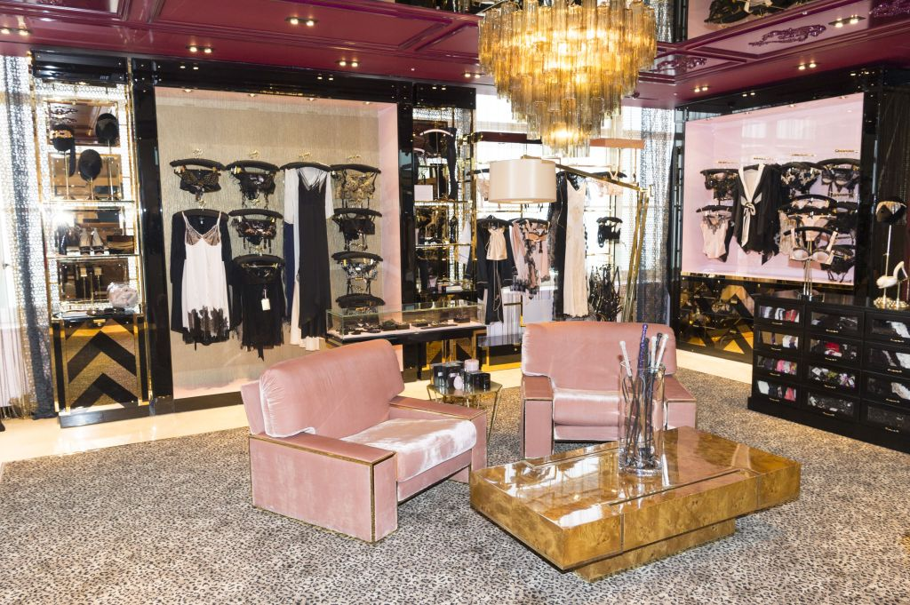 Agent Provocateur underwear store at the new Selfridges Body Studio - the world's first fully integrated bodywear department and the largest retail space ever opened by the iconic London storeSelfridges unveils The Body Studio, London, Britain - 04 Apr 2016 Covering over 37,000 sq ft, customers will experience over 3,000 brands and more than 5,000 different clothing options.London, UK.