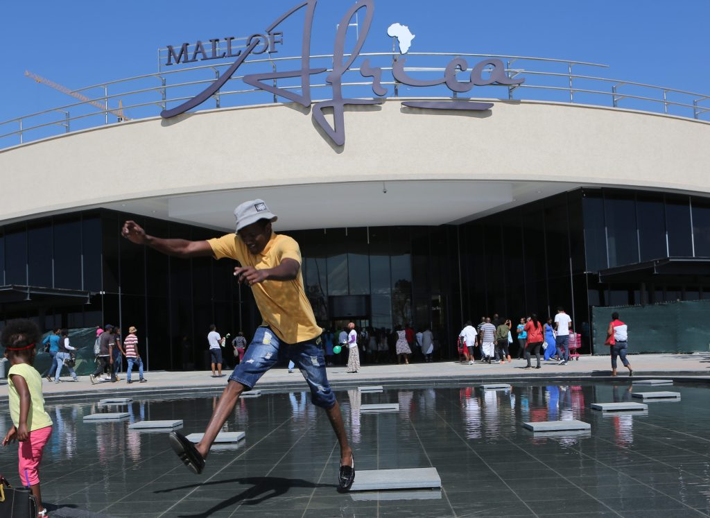 The Mall of Africa, located in Midrand, South Africa is the continents largest single phase complex.
