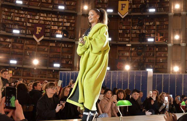 Rihanna on the catwalkFenty Puma by Rihanna show, Autumn Winter 2017, Paris Fashion Week, France - 06 Mar 2017