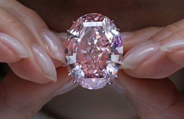 The Pink Star diamond.