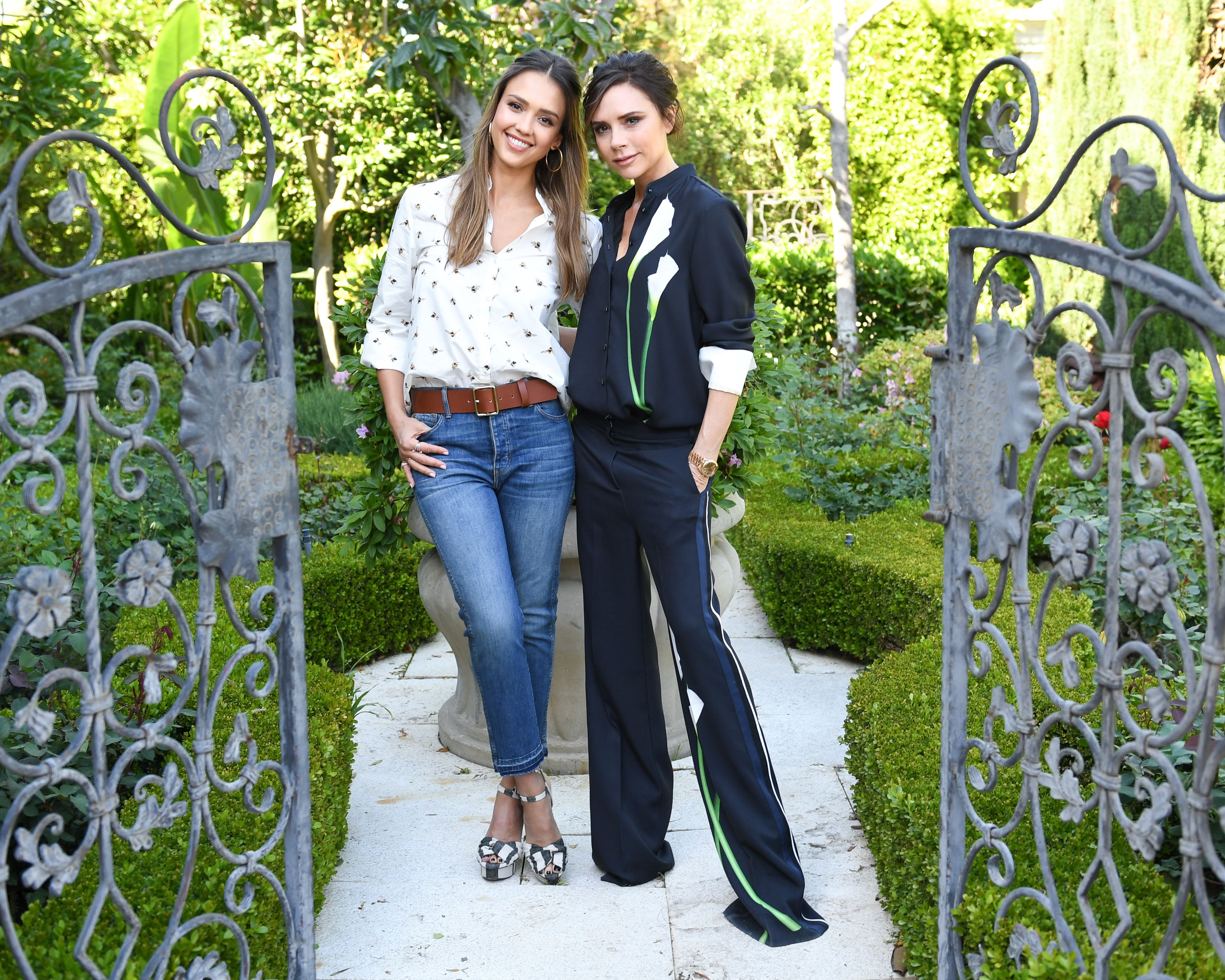 Jessica Alba, Victoria BeckhamVictoria Beckham for Target Garden Party, Los Angeles, USA - 01 Apr 2017