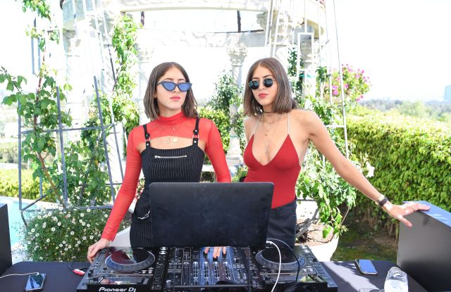 Haya Khadra, Simi KhadraVictoria Beckham for Target Garden Party, Los Angeles, USA - 01 Apr 2017