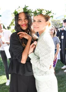 Kate Mara, Zoe Saldana,Victoria Beckham for Target Garden Party, Los Angeles, USA - 01 Apr 2017